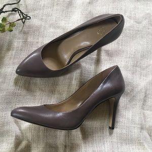 Ann Taylor Grey Heels